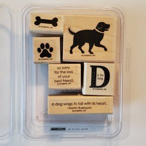 Stampin' Up! D is for Dog Stamp Set